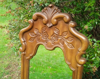 Mirror Fancy Arch Top Cottage Scroll Poppy Cottage Painted Furniture Vintage PAINT to ORDER