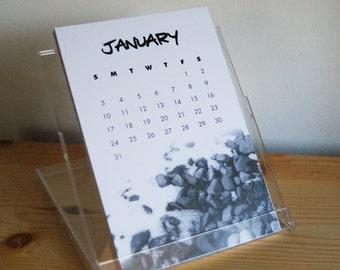 2016 photo postcard desk calendar set / refill