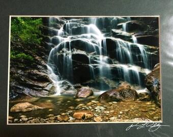 Adirondack Mountain Reserve   Base of Waterfall