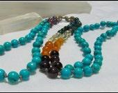 Turquoise Mala, Chakra Ma...