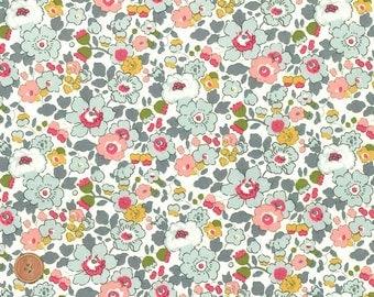 Liberty Tana Lawn Fabric, Liberty of London, Liberty Japan, Sewing Fabric, Betsy, Cotton Floral Print Scrap, Quilt Fabric, Patchwork,kt2019p