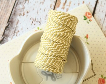 Olive Green Cotton Bakers Twine string 20m
