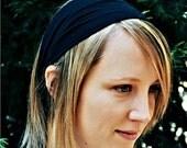 Adult Headband Black Yoga Head Wrap Bad Hair Day Headband Fitness Hair Band Black Hair Headwrap Head Scarf Head Wrap (#1001) S M L X