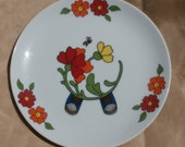 Plate for Interpur Child's Meal Set Replacement Plate Only for the Stacking Boy Set