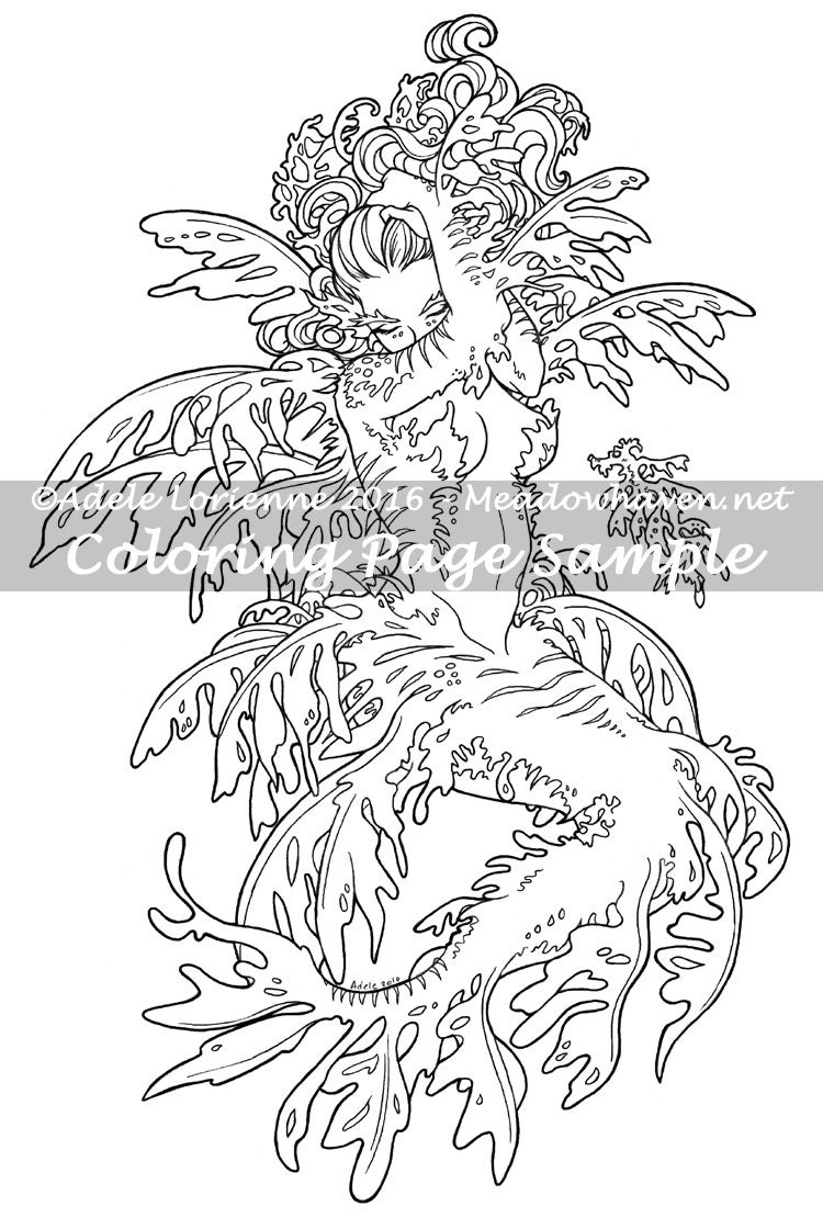 ocean dragon coloring pages - photo#37