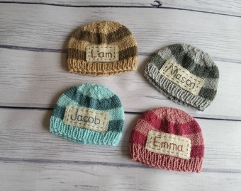Personalized baby gifts etsy personalized newborn hatnewborn hatnewborn coming home hatnewborn name hat negle Choice Image
