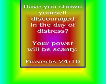Discouragement Poster
