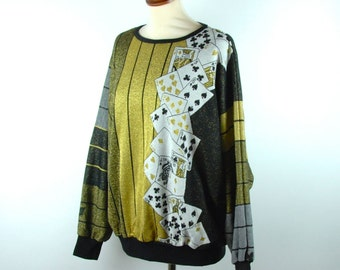 High Roller Gambler-ette Sweater! So Amazeballs!