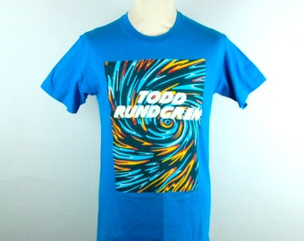 1990 Todd Rundgren Tour Tee, Second Wind Hits the Windy City