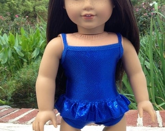 American made Suncatcher Swimsuit  to fit 18 inch doll