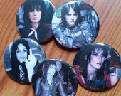 "Your choice Joan Jett pins large pin badge  button  pinback buttons 2-1/4"" round The Runaways"