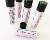 Cotton Candy Lip Balm - Moisturizing Avocado and Jojoba Oil Lip Balm