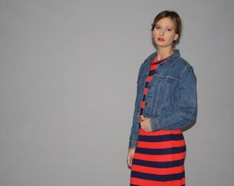 Vintage 90s Levis Denim Jean Jacket  -  1980s Vintage Denim Jacket  -  Vintage Levis Jean Jackets  - WO0562