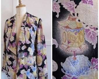1920s print jacket
