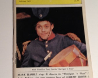 Playbill 1985 Mark Hamill Harrigan n Hart Broadway Theatre Vintage Theater Program NYC