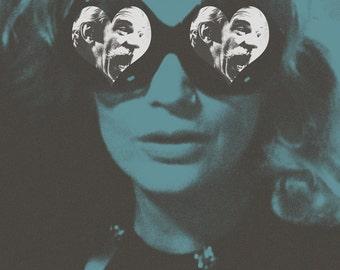 Minnie and Moskowitz alternative movie poster