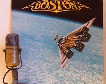 "ON SALE Boston Vinyl Record Album LP 1980s Classic Rock and Roll Pop Electric Guitar Hero Tom Scholz Brad Delp ""Third Stage"" (1986 Mca w/""Am"
