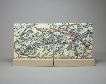 Great Smoky Mountains National Park Map Unique Gift for Men or Women