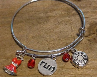 Red Dress Run Bracelet
