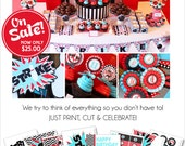 Bowling Birthday Party | Bowling Party Decorations | Bowling Party Printable | Teen Birthday | Adult Birthday | Amanda's Parties To Go