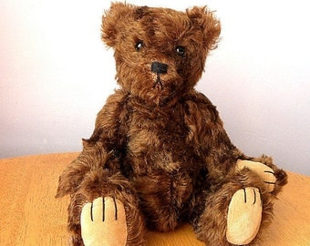 Artist Mohair Bear - 50% OFF List Price - Collectors Bear - 12 inch Bear - Made for Pud Bears - Stefan