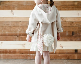 Bunny Coat Sewing Pattern //Wild Things Book with Pattern CD by Molly Goodall//Girl's Sizes 12M, 2T, 3T, 4T, 5, 6//Baby and Toddler6