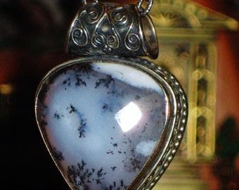 ENCHANTED Ancient Spirit of Merlin - Mystic Merlinite - Antique Sterling Talisman - Shamanic & Spirit Realm, Balance, Peace, Akashic Records