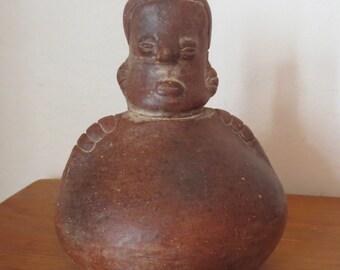 Southwest Figural Pottery Vessel