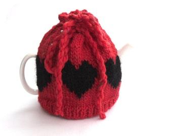 Valentine hearts Tea cosy