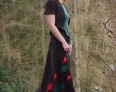 Bella Bolero ~ Brown Fleece ~ Winter Clothing ~ Woodland Fairy ~ Autumn Wear ~ Vest ~ Shrug ~ Faery Clothing ~ technodolly