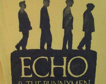 ECHO And The BUNNYMAN 80s T SHIRT