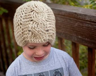 Hat crochet pattern, beanie crochet patterns, crochet hat patterns, cable crochet patterns, crochet pattern, boy hat patterns, child pattern