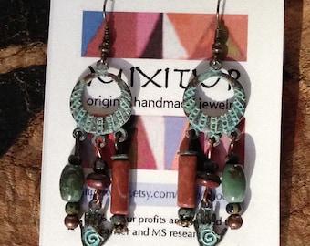 hand earrings #330