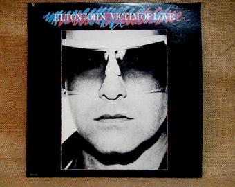 Elton John - Victims of Love - 1979 Vintage Vinyl Record Album