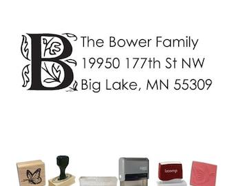 Custom Address Stamp - Letter Return Address PR568