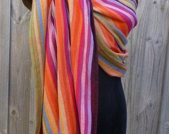 Wrap Conversion Ring Sling - Girasol Inara's Rainbow