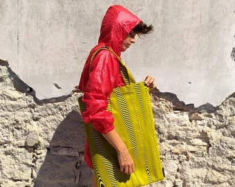 Feedbackground bag, yellow