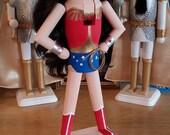Wonder Woman Nutcracker (Ready To Ship)