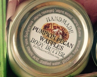 Pumpkin Pecan Waffles Body Butter