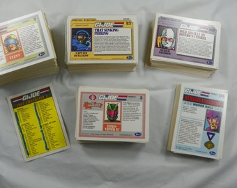 1991 Hasbro G. I. Joe Trading Cards VINTAGE Instant Collection 90s GIJoe Collector Card