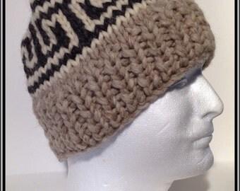 "Vintage Canadian Style Wool Toque ""Tees"""