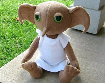 Dobby Elf Plush Doll - Made to Order