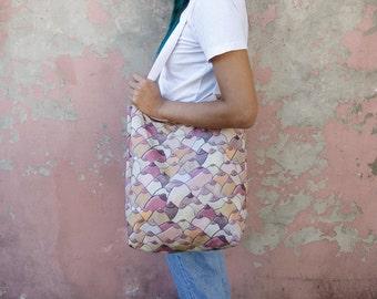 Boob printed tote bag