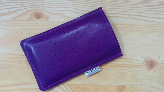iPhone cover,smartphone case,iPhone case,purple phone case,leather phone case,leather phone cover,leather mobile case, iPhone leather case