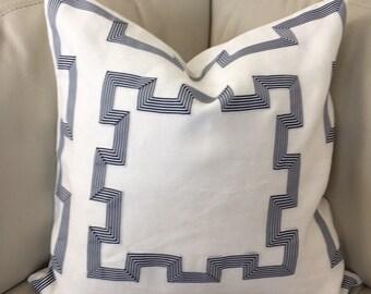 Greek Key Pillow Cover, 20X20