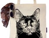 Jazz the Black Cat - Eco-Friendly Tote Bag
