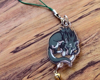 Wolf Link - Legend of Zelda Phone Charm