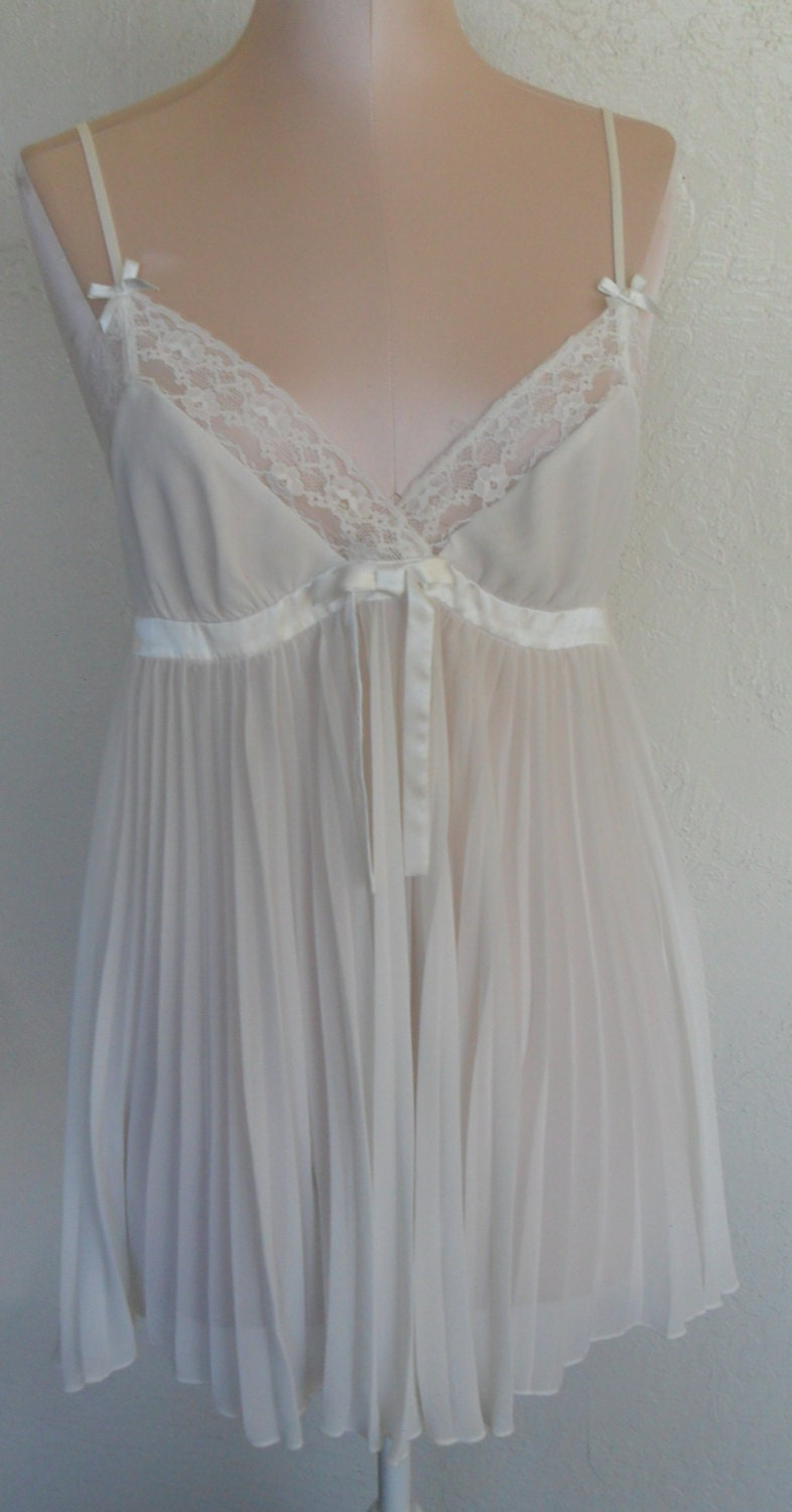 Vintage Nightgown Baby Doll By Betsey Johnson Size Medium