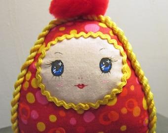 Kawaii Roly Poly Cloth Tumble Doll