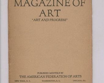American Magazine of Art, April 1917, J. Alden Weir, Scandinavian Sculpture, Women Painters, John singer Sargent, Pennsylvania Academy